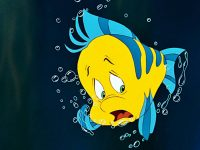 Jacob Tremblay, very excited about Flounder's design in The Little Mermaid live action