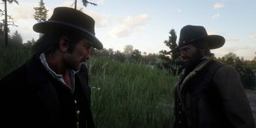 A Red Dead Redemption 2 player discovers a hidden hat that we can equip ... on a scarecrow
