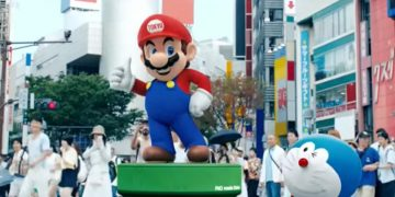 Did you miss Nintendo at the Olympics ceremony?  This seems to be the reason for his absence