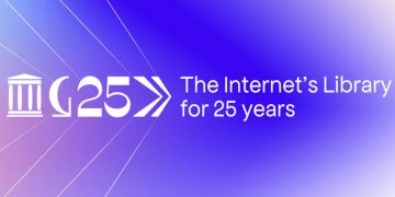 Internet Archive cumple 25 años