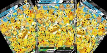 Pikachu's special cards revealed for the 25th anniversary of Pokémon