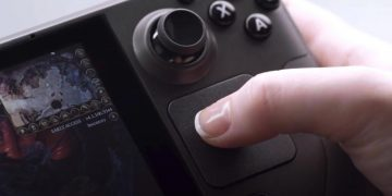 Steam Deck reveals Trackpad and gyroscope in detail in a new video
