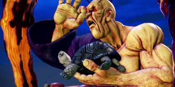 Street Fighter V: Champion Edition shows a gameplay trailer for Oro, a character from the DLC