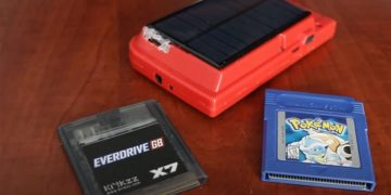 This is the only Game Boy in the world that works with solar energy, so you never run out of batteries
