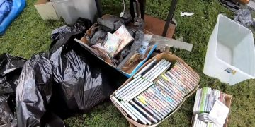 A collection of retro and classic games valued at $ 100,000 found inside an abandoned house