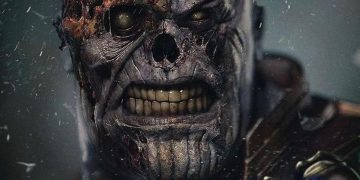 A fanart shows the MCU's Zombie Thanos looking realistic
