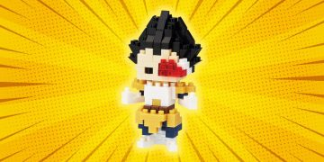 Build your own Vegeta with this Nanoblock figure: it is discounted for less than 10 euros