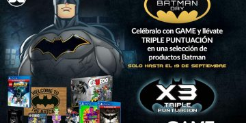 Celebrate Batman Day at GAME with triple the score on games and merchandise, this weekend only!