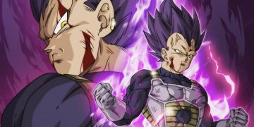 Dragon Ball Super - This is Vegeta's Mega Instinct in full color created by this fan