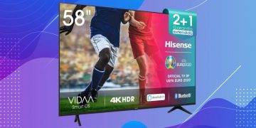 Games, series and movies with cinema quality thanks to this 58-inch 4K Smart TV: it is reduced to 449 euros