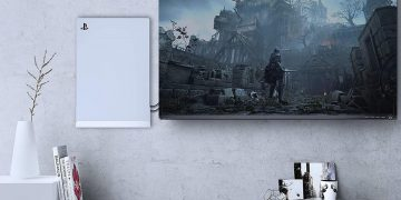 Hang your PS5 on the wall with the fashionable bracket and save space in your living room