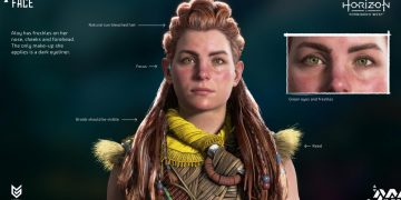New Look at Aloy from Horizon Forbidden West: Guerrilla Reveals Incredible Graphic Details on Her Face and More Changes