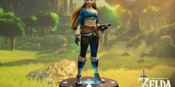 This figure of the princess Zelda is very realistic, has LED lighting and is on sale at Amazon