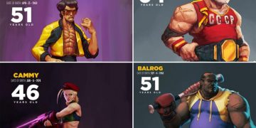 This is what some Street Fighter fighters would look like at their real ages today