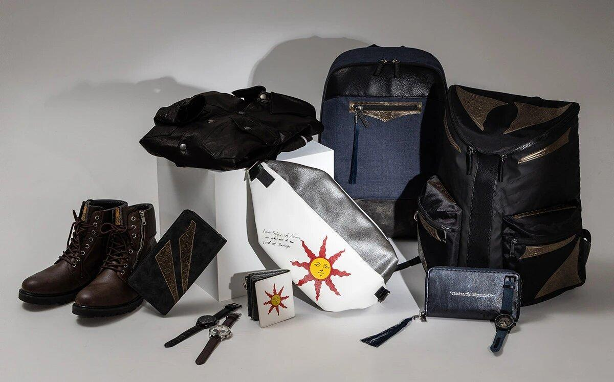 Dark Souls launches a new clothing line: Solaire fanny pack, Artorias watch and even Oscar de Astora's boots