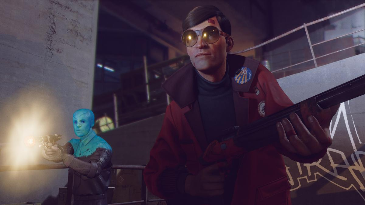 Deathloop is updated with DLSS, Ray Tracing improvements and audio support for the Dualsense on PC