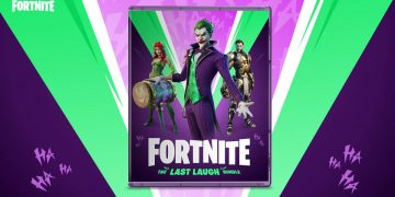Do not stop smiling with Fortnite: Lot the Last Laugh and its flash offer for today in GAME stores