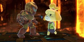 Doom Slayer and Canela, from Animal Crossing, can finally play (or stick together) thanks to Super Smash Bros. Ultimate