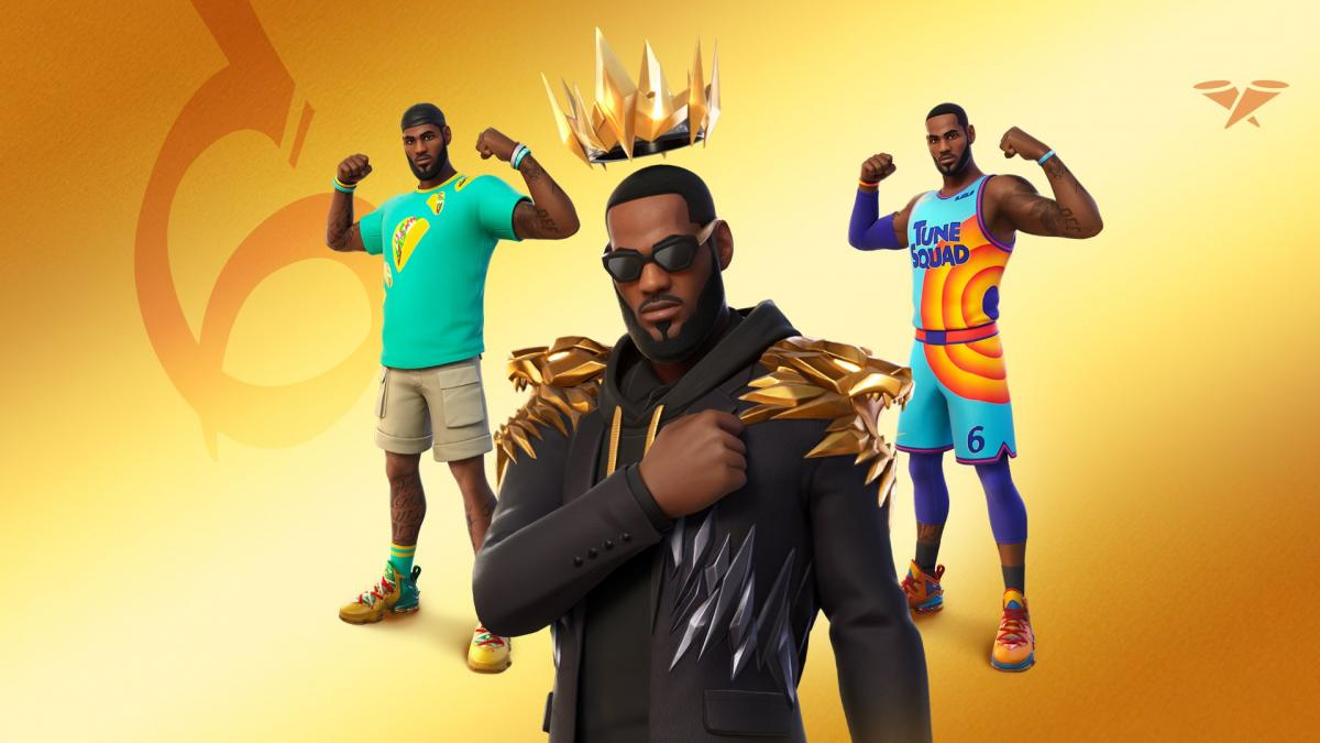 Epic Games invests in LeBron James' production company to bring '' unique content '' to Fortnite