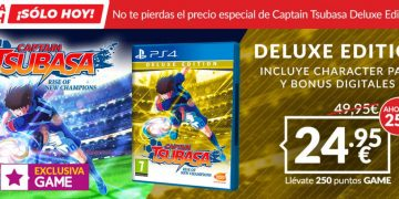 GAME Flash Sale: Captain Tsubasa Deluxe Edition with € 24.95 Content Quantity Only Available Today