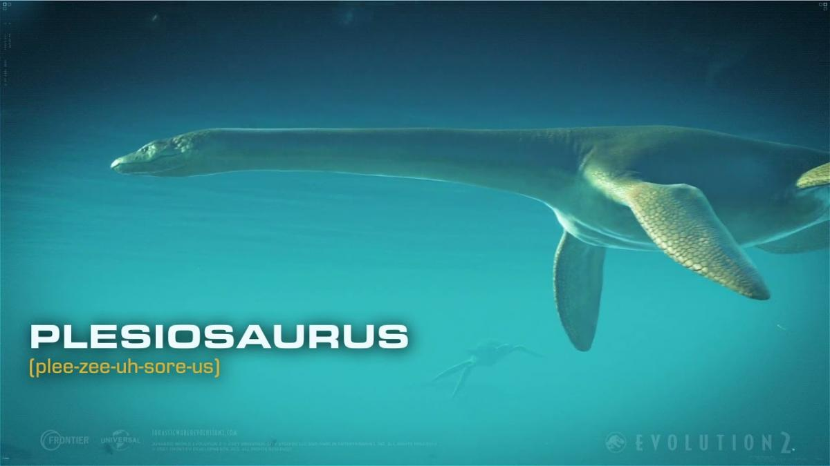 Jurassic World Evolution 2 introduces us to the plesiosaurus in its new trailer