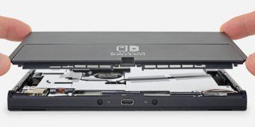 Nintendo Switch OLED desmontaje teardown