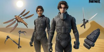 Paul Atreides and Chani, from Dune, will fight their next battle in Fortnite: skins and accessories now available