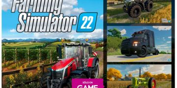 Pre-order Farming Simulator 2022 at GAME and get an exclusive DLC with additional content
