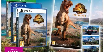 Pre-order Jurassic World Evolution 2 at GAME and get an exclusive poster and free DLC