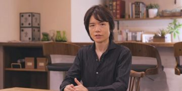 Sakurai shares an image of Among Us now that she doesn't have to worry about rumors of her arrival in Super Smash Bros. Ultimate