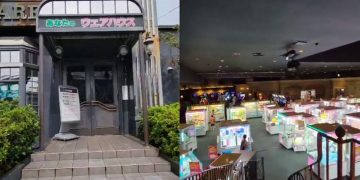 The entrance of these Japanese arcades beats the best adventure film