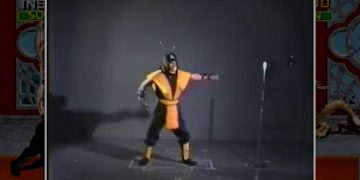 """The """"Get Over Here!""""  of Scorpion in Mortal Kombat was improvised: Ed Boon unveils video of the recording 30 years ago"""
