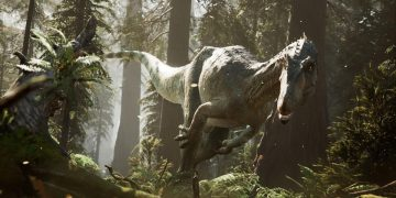 The Lost Wild, a promising game that mixes dinosaurs and survival horror