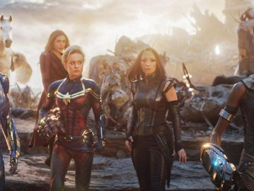 """The plane of the superheroines of Avengers Endgame required re-recordings so that it was not """"forced"""""""