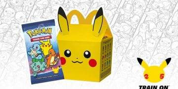 The promotion for the 25th anniversary of Pokémon starts at McDonald's Spain