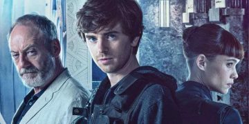 Trailer and poster of Way Down, with Freddie Highmore and Liam Cunningham robbing the Bank of Spain