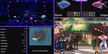 Would you win over these fish playing Street Fighter?  Look first then answer